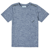 Vêtements Garçon T-shirts manches courtes Columbia TECH TREK Marine