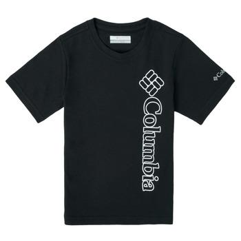 Vêtements Garçon T-shirts manches courtes Columbia HAPPY HILLS GRAPHIC Noir