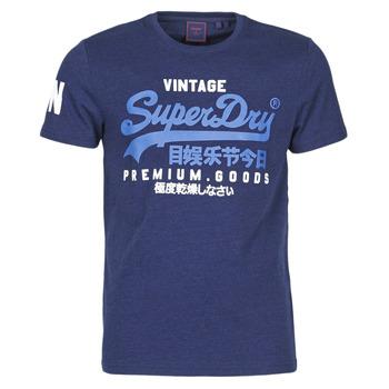 Vêtements Homme T-shirts manches courtes Superdry VL NS TEE Bleu