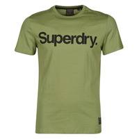 Vêtements Homme T-shirts manches courtes Superdry MILITARY GRAPHIC TEE 185 Kaki