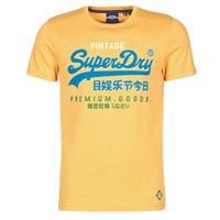 Vêtements Homme T-shirts manches courtes Superdry VL TRI TEE 220 Jaune