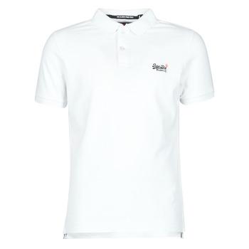 Vêtements Homme T-shirts manches courtes Superdry CLASSIC PIQUE S/S POLO Blanc