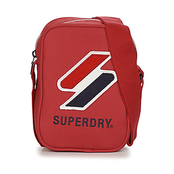 Sacs Pochettes / Sacoches Superdry SPORTSTYLE SIDE BAG Rouge
