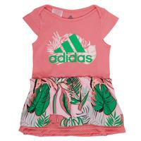 Vêtements Fille Robes courtes adidas Performance FLOWER DRESS Rose