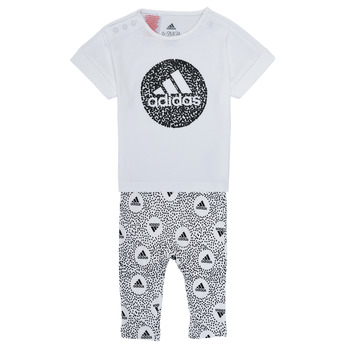 Vêtements Fille Ensembles enfant adidas Performance TIGHT SET Blanc