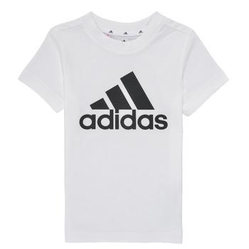 Vêtements Garçon T-shirts manches courtes adidas Performance TINEBRE Blanc