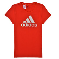 Vêtements Fille T-shirts manches courtes adidas Performance TREPIN Rouge