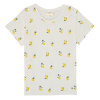 Vêtements Fille T-shirts manches courtes Deeluxe NADY Blanc