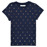 Vêtements Fille T-shirts manches courtes Deeluxe MAYA Marine