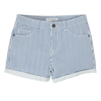 Vêtements Fille Shorts / Bermudas Deeluxe BILLIE Blanc / Bleu