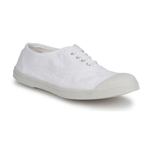 Chaussures Homme Baskets basses Bensimon TENNIS LACET Blanc