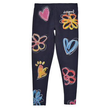 Vêtements Fille Leggings Desigual SOUDELLA Marine