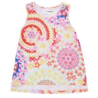 Vêtements Fille Débardeurs / T-shirts sans manche Desigual SABRINA Multicolore