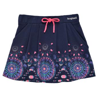 Vêtements Fille Jupes Desigual FEDOLA Bleu