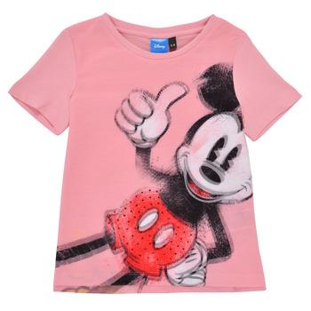 Vêtements Fille T-shirts manches courtes Desigual FILOMENA Rose