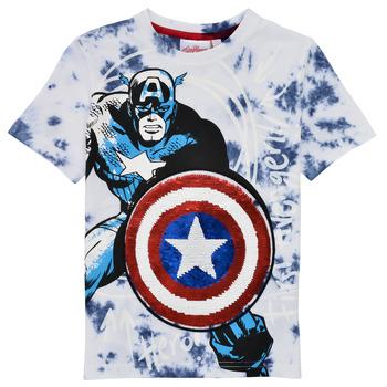 Vêtements Garçon T-shirts manches courtes Desigual DANNA Multicolore