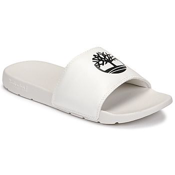 Chaussures Mules Timberland PLAYA SANDS SPORTS SLIDE Blanc