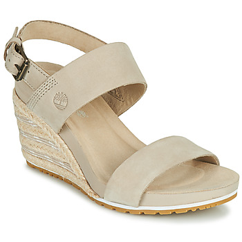 Chaussures Femme Sandales et Nu-pieds Timberland CAPRI SUNSET WEDGE Beige