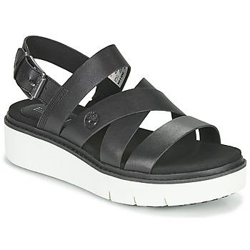 Chaussures Femme Sandales et Nu-pieds Timberland SAFARI DAWN FRONT STRAP Noir