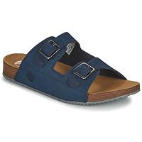 Chaussures Enfant Mules Timberland CASTLE ISLAND SLIDE Bleu
