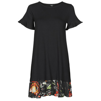 Vêtements Femme Robes courtes Desigual KALI Noir