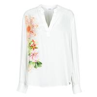 Vêtements Femme Chemises / Chemisiers Desigual TIGRIS Blanc