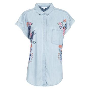 Vêtements Femme Chemises / Chemisiers Desigual SULLIVAN Bleu