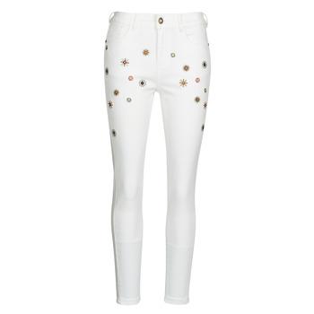 Vêtements Femme Jeans slim Desigual AUSTRIA Blanc