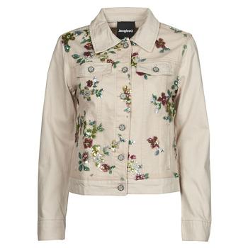 Vêtements Femme Vestes en jean Desigual BRILLIGRIN Rose