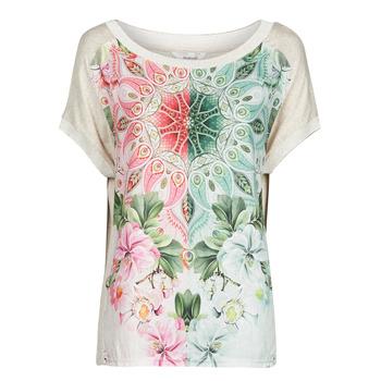 Vêtements Femme T-shirts manches courtes Desigual COPENHAGUE Blanc