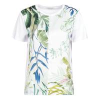 Vêtements Femme T-shirts manches courtes Desigual BUDAPEST Blanc