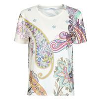 Vêtements Femme T-shirts manches courtes Desigual POPASLEY Blanc
