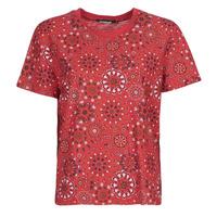 Vêtements Femme T-shirts manches courtes Desigual LYON Rouge