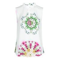 Vêtements Femme Débardeurs / T-shirts sans manche Desigual ROSEN Blanc