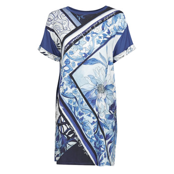 Vêtements Femme Robes courtes Desigual SOLIMAR Bleu