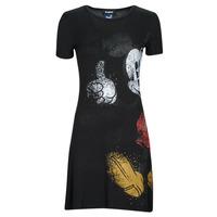 Vêtements Femme Robes courtes Desigual MICKEY Noir