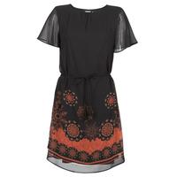 Vêtements Femme Robes courtes Desigual TAMPA Noir