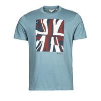 Vêtements Homme T-shirts manches courtes Ben Sherman HALF TONE FLEG TEE Bleu