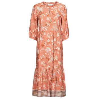 Vêtements Femme Robes longues Cream JOHUI DRESS Orange