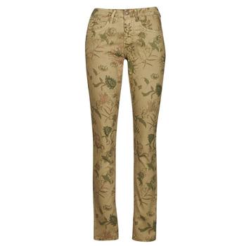 Vêtements Femme Pantalons 5 poches Cream LOTTE PRINTED Multicolor