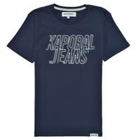 Vêtements Garçon T-shirts manches courtes Kaporal MAIL Marine