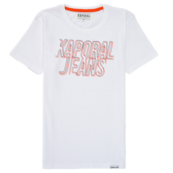 Vêtements Garçon T-shirts manches courtes Kaporal MAIL Blanc