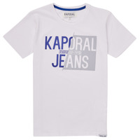 Vêtements Garçon T-shirts manches courtes Kaporal MAYO Blanc