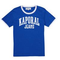 Vêtements Garçon T-shirts manches courtes Kaporal METRO Bleu