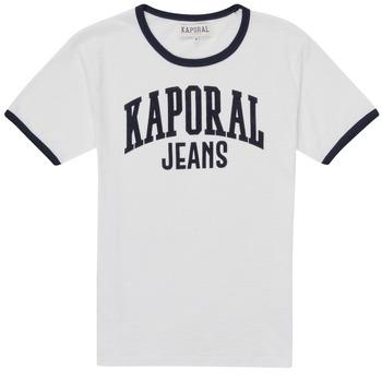 Vêtements Garçon T-shirts manches courtes Kaporal METRO Blanc