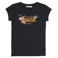 Vêtements Garçon T-shirts manches courtes Kaporal ELISA Noir