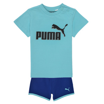 Vêtements Garçon Ensembles enfant Puma BB SET ANGEL Bleu