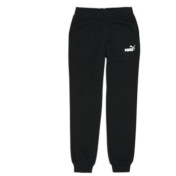 Vêtements Fille Pantalons de survêtement Puma ESS SWEATPANT Noir