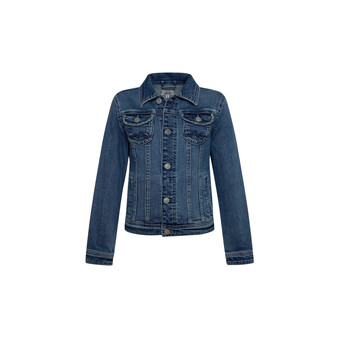 Vêtements Fille Vestes en jean Pepe jeans NEW BERRY Bleu