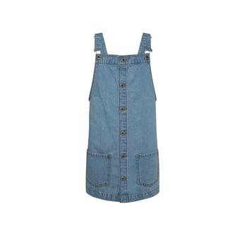 Vêtements Fille Robes courtes Pepe jeans CHICAGO PINAFORE Bleu